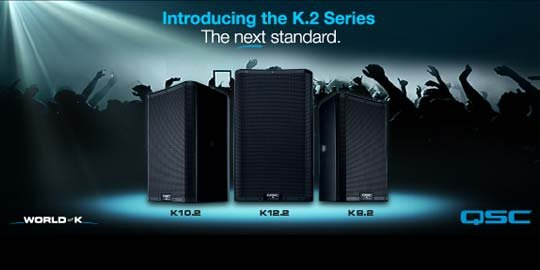 QSC Introduces K.2 Series Loudspeakers