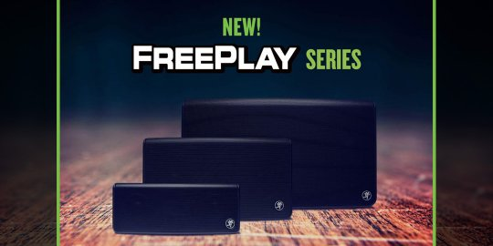 New! Mackie FreePlay PA and Portable Bluetooth Speakers