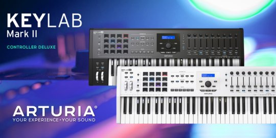 Arturia Launches New KeyLab MkII Keyboards